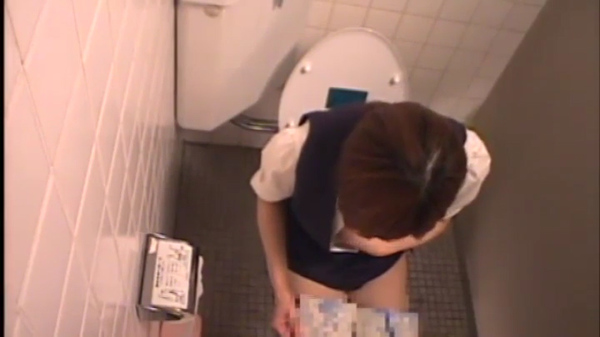 ABA-009-1 職場のトイレでオナニーをする…