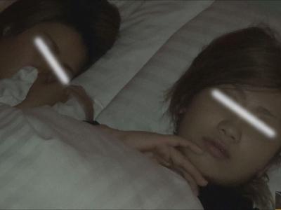 vol.75【後半】{BLENDA系美女&黒ギャル}UA・Mちゃん2人とホテル