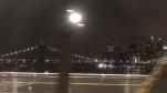 ニューヨークの電車の車窓から